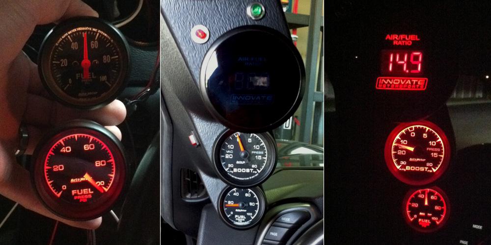 auto meter boost gauge wiring auto meter phantom gauges